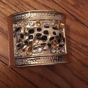 Lilly Pulitzer gold cuff bracelet